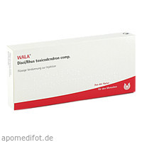 DISCI/RHUS TOX COMP, 10X1 ML, Wala Heilmittel GmbH