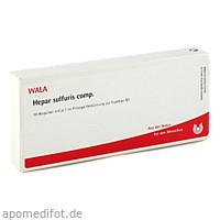HEPAR SULF COMP, 10X1 ML, Wala Heilmittel GmbH