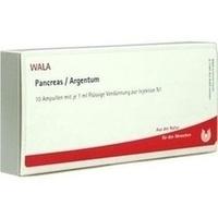 PANCREAS/ARGENTUM, 10X1 ML, Wala Heilmittel GmbH