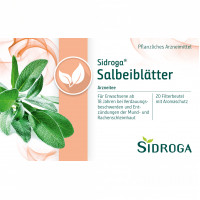 Sidroga Salbeiblätter, 20X1.5 G, Sidroga Gesellschaft Für Gesundheitsprodukte mbH