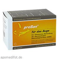 Orthomolekulare Vitalstoffkomb.proSan f.d.Auge, 90 ST, Prosan Pharmazeutische Vertriebs GmbH