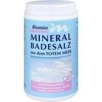 BIOMIN MINERAL BADESALZ TOTES MEER, 1250 G, Biomin Pharma GmbH