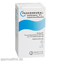 PASCONEURAL INJEKTOPAS 2%, 50 ML, Pascoe pharmazeutische Präparate GmbH