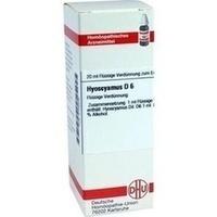 HYOSCYAMUS D 6, 20 ML, Dhu-Arzneimittel GmbH & Co. KG