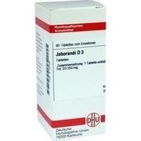 JABORANDI D 3, 80 ST, Dhu-Arzneimittel GmbH & Co. KG