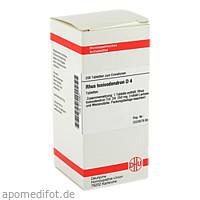 RHUS TOXICODENDRON D 4 Tabletten, 200 ST, DHU-Arzneimittel GmbH & Co. KG