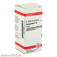 SARSAPARILLA D12, 80 ST, Dhu-Arzneimittel GmbH & Co. KG
