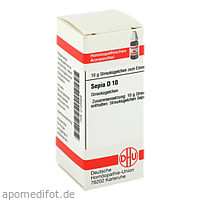 SEPIA D10, 10 G, Dhu-Arzneimittel GmbH & Co. KG