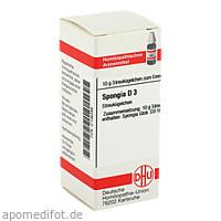 SPONGIA D 3, 10 G, Dhu-Arzneimittel GmbH & Co. KG