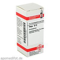 THUJA D12, 10 G, Dhu-Arzneimittel GmbH & Co. KG