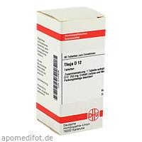 THUJA D12, 80 ST, Dhu-Arzneimittel GmbH & Co. KG