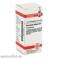 VERATRUM ALB D 4, 10 G, Dhu-Arzneimittel GmbH & Co. KG