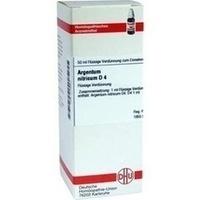 ARGENTUM NITRICUM D 4 Dilution, 50 ML, DHU-Arzneimittel GmbH & Co. KG