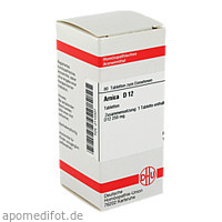 ARNICA D12, 80 ST, Dhu-Arzneimittel GmbH & Co. KG