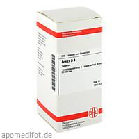 ARNICA D 3, 200 ST, Dhu-Arzneimittel GmbH & Co. KG