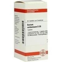 BARIUM CARB D30, 80 ST, Dhu-Arzneimittel GmbH & Co. KG
