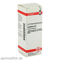 CAMPHORA D 6, 20 ML, Dhu-Arzneimittel GmbH & Co. KG