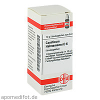 CAUSTICUM HAHNEM D 6, 10 G, Dhu-Arzneimittel GmbH & Co. KG