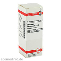 CAUSTICUM HAHNEM D12, 20 ML, Dhu-Arzneimittel GmbH & Co. KG