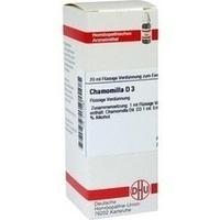 CHAMOMILLA D 3, 20 ML, Dhu-Arzneimittel GmbH & Co. KG