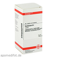 CHELIDONIUM D 4 Tabletten, 200 ST, DHU-Arzneimittel GmbH & Co. KG