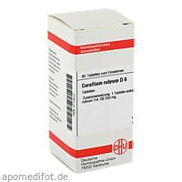 CORALLIUM RUBR D 6, 80 ST, Dhu-Arzneimittel GmbH & Co. KG