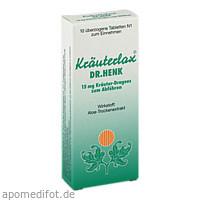 Kräuterlax DR.Henk 15mg Kräuter-Drag. z. Abführen, 10 ST, Dr. Theiss Naturwaren GmbH