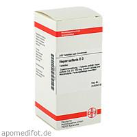 HEPAR SULF D 3, 200 ST, Dhu-Arzneimittel GmbH & Co. KG