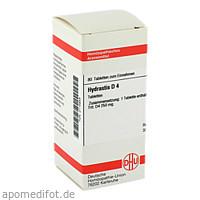 HYDRASTIS D 4, 80 ST, Dhu-Arzneimittel GmbH & Co. KG