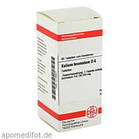 KALIUM BROMAT D 6, 80 ST, Dhu-Arzneimittel GmbH & Co. KG