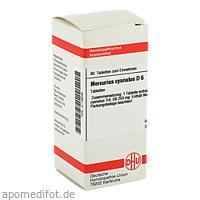 MERCURIUS CYANAT D 6, 80 ST, Dhu-Arzneimittel GmbH & Co. KG
