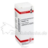 CLEMATIS D 4, 20 ML, Dhu-Arzneimittel GmbH & Co. KG