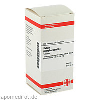 KALIUM PHOSPHORICUM D 4 Tabletten, 200 ST, DHU-Arzneimittel GmbH & Co. KG