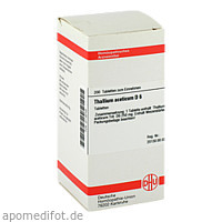 THALLIUM ACET D 6, 200 ST, Dhu-Arzneimittel GmbH & Co. KG