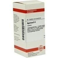 AGARICUS D 4, 80 ST, Dhu-Arzneimittel GmbH & Co. KG