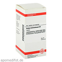 KALIUM BICHROM D 6, 200 ST, Dhu-Arzneimittel GmbH & Co. KG