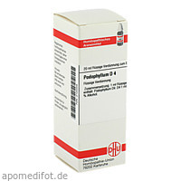 PODOPHYLLUM D 4, 20 ML, Dhu-Arzneimittel GmbH & Co. KG