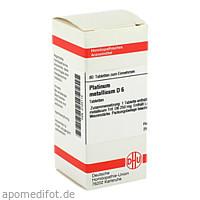 PLATINUM MET D 6, 80 ST, Dhu-Arzneimittel GmbH & Co. KG
