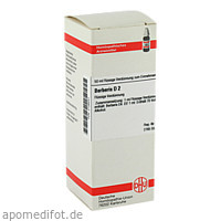 BERBERIS D 2, 50 ML, Dhu-Arzneimittel GmbH & Co. KG