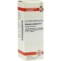 ARSENUM JODAT D 6, 20 ML, Dhu-Arzneimittel GmbH & Co. KG