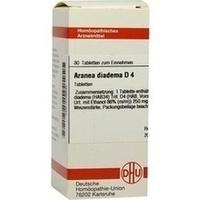 ARANEA DIADEMA D 4, 80 ST, Dhu-Arzneimittel GmbH & Co. KG