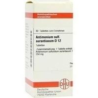 ANTIMONIUM SULF AURANT D12, 80 ST, Dhu-Arzneimittel GmbH & Co. KG