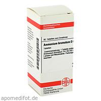 AMMONIUM BROMAT D 6, 80 ST, Dhu-Arzneimittel GmbH & Co. KG