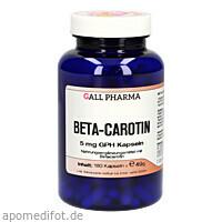 Beta-Carotin 5mg, 180 ST, Hecht-Pharma GmbH