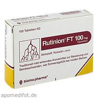 RUTINION FT 100mg, 100 ST, Biomo Pharma GmbH