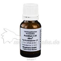 ACONITUM C30, 15 G, Alhopharm Arzneimittel GmbH