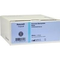 Assura Basisplatte Extra konvex 60mm, 4 ST, Coloplast GmbH