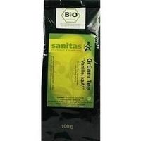 Grüner Tee Vanille kbA, 100 G, Sanitas GmbH & Co. KG