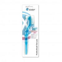Protho Brush De Luxe Prothesenreiniger transp.blau, 1 ST, Hager Pharma GmbH