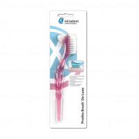 Protho Brush De Luxe Prothesenreiniger transp.pink, 1 ST, Hager Pharma GmbH